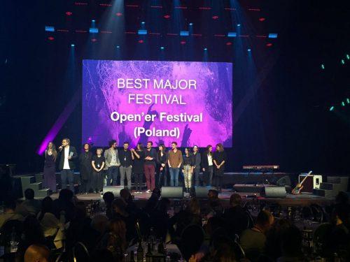 Open'er wybrany najlepszym dużym festiwalem w Europie