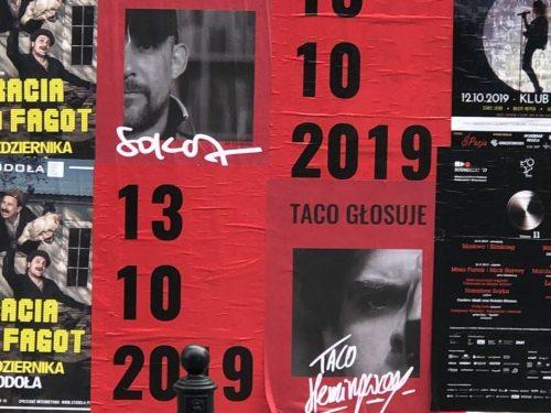 Taco Hemingway, Sokół, Jan-rapowanie i inni raperzy zachęcają do udziału w wyborach