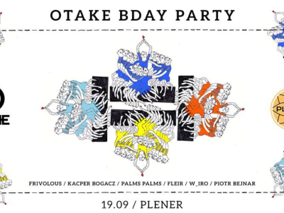 Otake Records Bday Party   special guest Frivolous