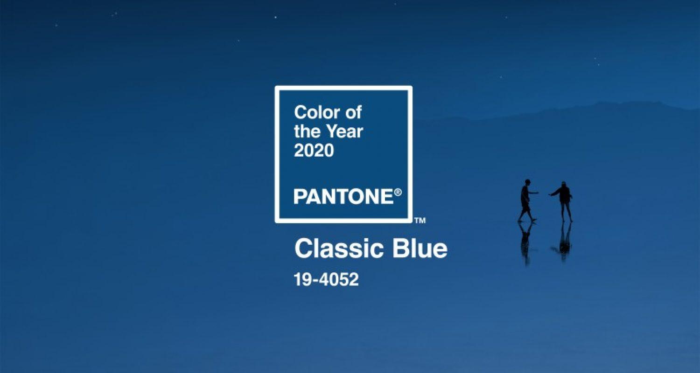 Classic Blue kolorem roku 2020 wg PANTONE