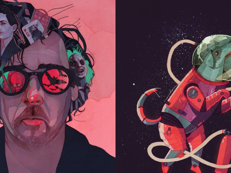"""Patryk Hardziej: """"Projektowanie i ilustracja w jakimś stopniu mi wychodzą"""" #psychikagrafika"""