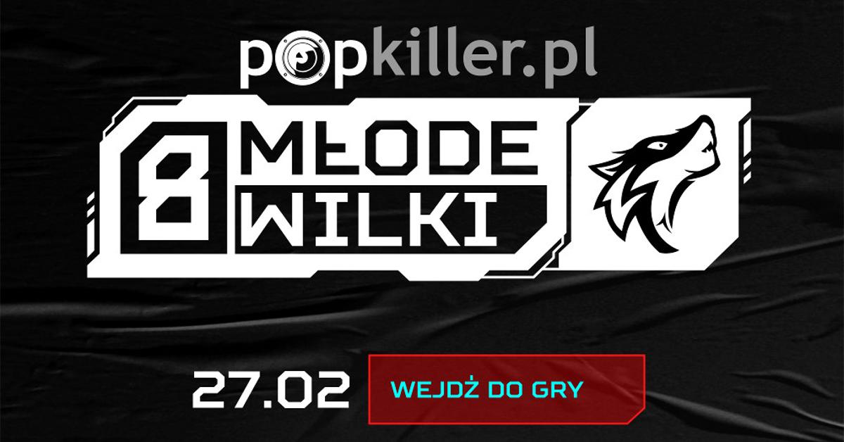 Popkiller Młode Wilki 2021 – poznaj zawodników ósmej edycji