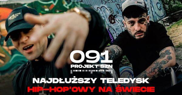 Najdłuższy teledysk na świecie, a w nim Bonson, Major SPZ i cała szczecińska scena hip-hopowa