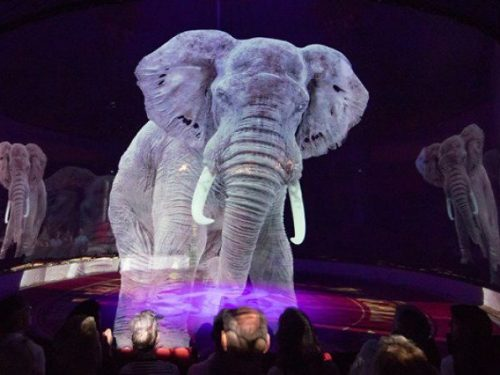 Hologramy zamiast żywych zwierząt w niemieckim cyrku