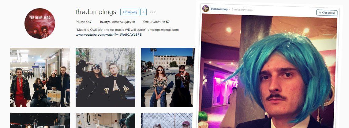 The Dumplings i Dawid Podsiadło rządzą Instagramem i fejsem