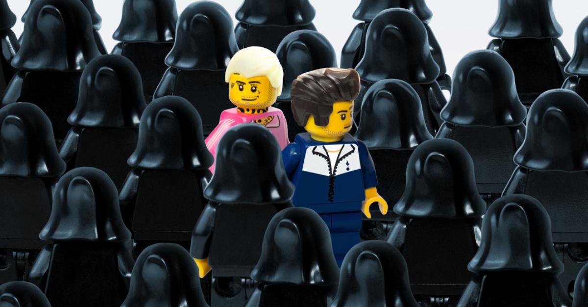 Okładki polskich albumów w wersji LEGO. Sprawdź  wyjątkowy profil na Instagramie