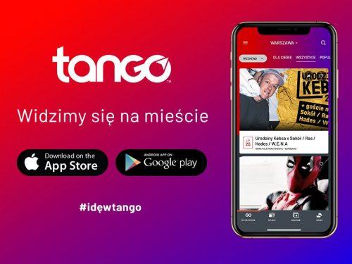 Wszystkie imprezy i festiwale, jedna aplikacja. Poznajcie Tango