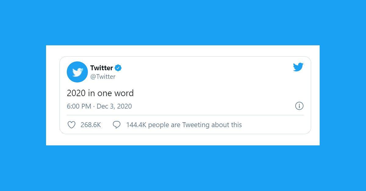 Twitter z nowym challengem! Netflix, Lego i inni w jednym słowie o 2020
