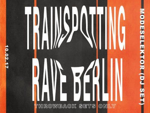 Trainspotting Rave Berlin – Boiler Room z okazji premiery filmu!