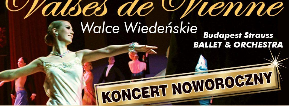 Valses de Vienne- Walce Wiedeńskie koncert noworoczny