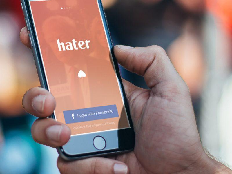 Aplikacja Hater znajdzie Twoją drugą połówkę, nienawidzącą tego, co Ty