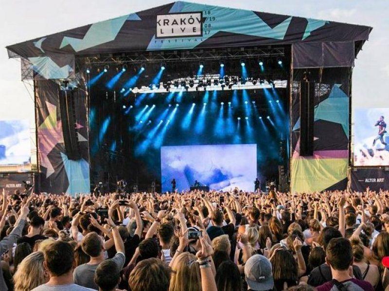 Czterech nowych artystów na Kraków Live Festival 2019