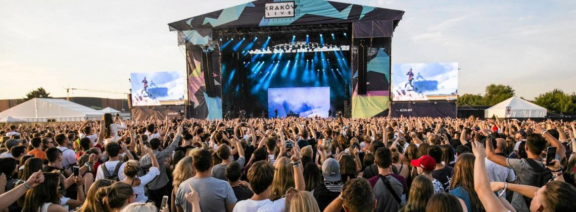 Kraków Live Music Festival 2019 – godzinowa rozpiska koncertów
