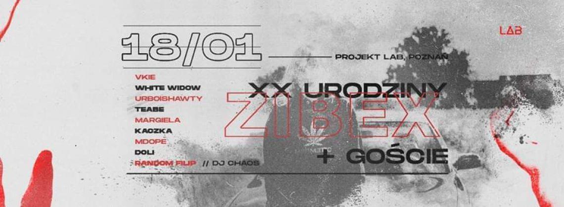 XX urodziny zibexa + goście